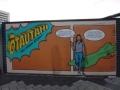 Giant comic mural 1
