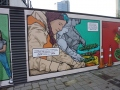 Giant comic mural 5