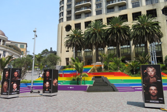 Pride steps