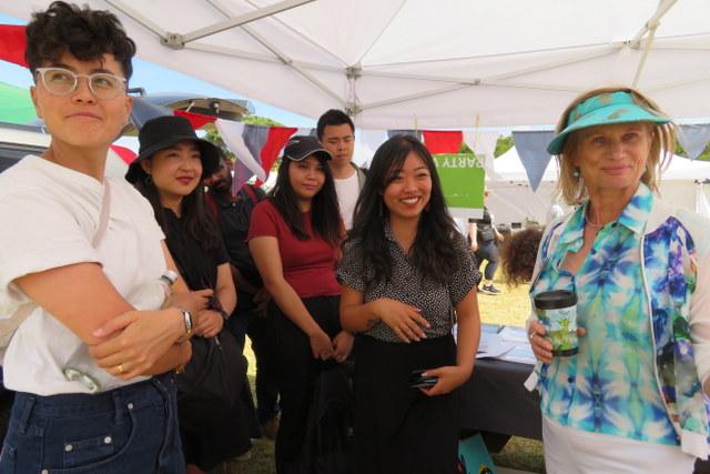 Ingid w young Asian Treaty group
