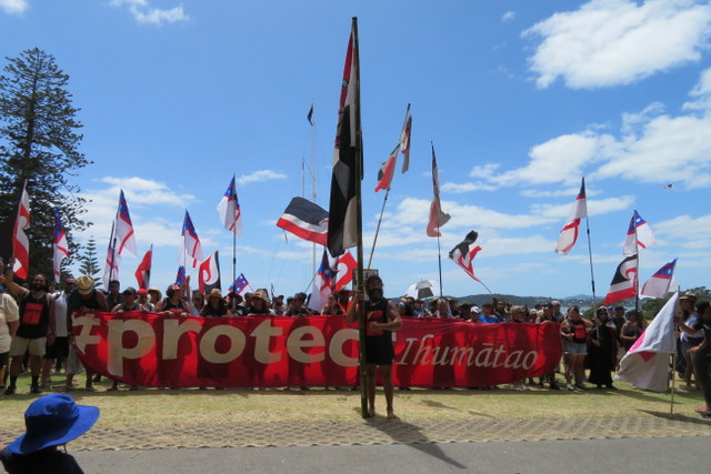 Ihumatao March
