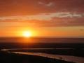 sunset at North Piha