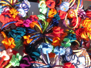 Lema's colourful crochet