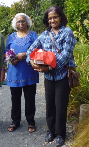 Shila and her mother
