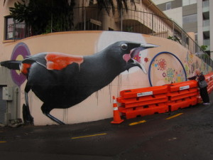 5. street art bird